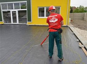 Kontrola tesnosti hydroizolačnej fólie - www.sensorgroup.com 879660ffb79