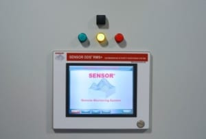 the screen of Sensor dds 24/7 geomembrane leak detection and location system
